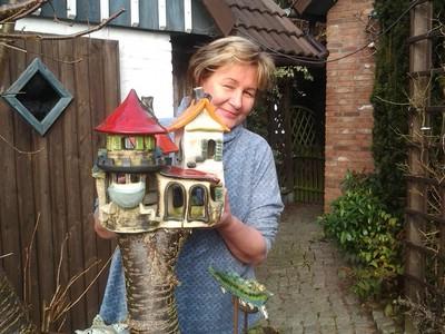 Neues Programm im Keramik Centrum: Von der Vogeltränke bis zur Gartenskulptur